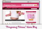 Thumbnail Pregnancy Fitness Niche Blog - Highly Optimized WP Blogs
