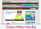 Thumbnail Babies & Toddlers Niche Blog - Highly Optimized WP Blogs