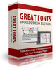 Thumbnail Great Fonts Plugin For WordPress