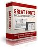 Thumbnail Great Fonts Plugin For WordPress