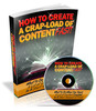 Thumbnail How To Create a Crapload of Content Fast PLR (eBook and Audio)