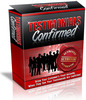 Thumbnail Testimonial Confirmed Software (PLR)