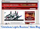 Thumbnail Christmas Lights Business Niche Blog - Highly Optimized WP Blogs