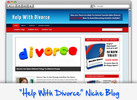 Thumbnail Help With Divorce Niche Blog - Highly Optimized WP Blogs