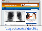 Thumbnail Lung Detoxification Niche Blog - Highly Optimized WP Blogs