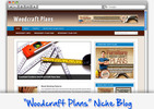Thumbnail Woodcraft Plans Niche Blog - Highly Optimized WP Blogs
