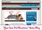 Thumbnail Pet Business Niche Blog - Highly Optimized WP Blogs