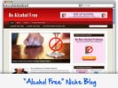Thumbnail Be Alcohol Free Niche Blog - Highly Optimized WP Blogs