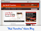 Thumbnail Get Rid Of Termites Niche Blog - Highly Optimized WP Blogs