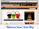 Thumbnail Halloween Niche Blog - Highly Optimized WP Blogs