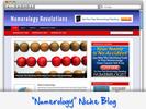 Thumbnail Numerology Niche Blog - Highly Optimized WP Blogs