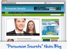 Thumbnail Persuasion Secrets Niche Blog - Highly Optimized WP Blogs