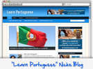 Thumbnail Learn Portuguese Niche Blog - Highly Optimized WP Blogs