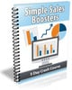 Thumbnail Simple Sales Boosters PLR Autoresponder Messages
