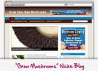 Thumbnail Grow Mushrooms Niche Blog