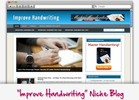 Thumbnail Improve Handwriting Niche Blog
