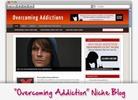 Thumbnail Overcoming Addiction Niche Blog