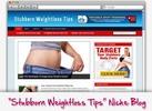 Thumbnail Stubborn Weight Loss Niche Blog