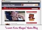Thumbnail Learn Krav Maga Niche Blog - Highly Optimized Blogs