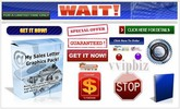 Thumbnail My Sales Letter Graphics Pack With Master Resell Rights