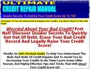 Thumbnail Ultimate Credit Repair Manual MRR Ebook