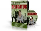 Thumbnail The Distinguished Delegator eBook and Audio (MRR)