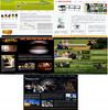 Thumbnail Five HTML Templates With No Restriction PLR