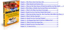 Thumbnail Dieting Your Dog - PLR