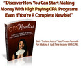 Thumbnail The Complete Newbies Guide To CPA  Mastery! - MRR