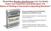 Thumbnail Copywriting Business Crash Course - PLR