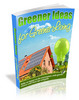 Thumbnail Greener Ideas For a Greener Living MRR eBook