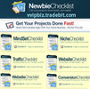 Thumbnail The Newbie Checklist Get Your Projects Done Fast  - RR