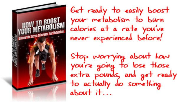 Pay for How to Boost Your Metabolism  Audio Recording Included!