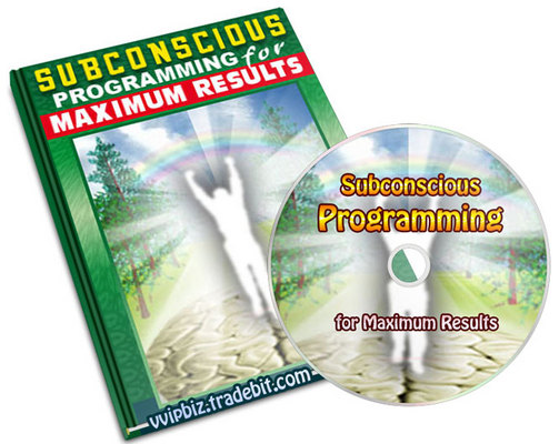 Pay for Subconscious Programming  for Maximum Results (Audio +  pdf )