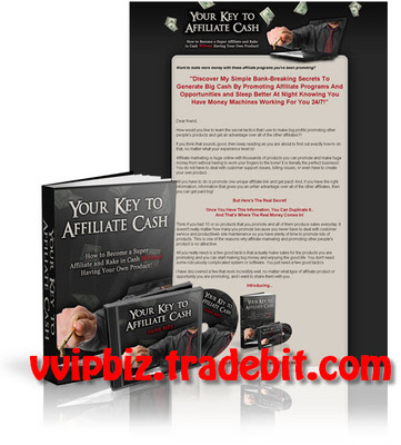 Pay for Your Key to Affiliate Cash (eBook and Audio) Comes with Transferable MRR