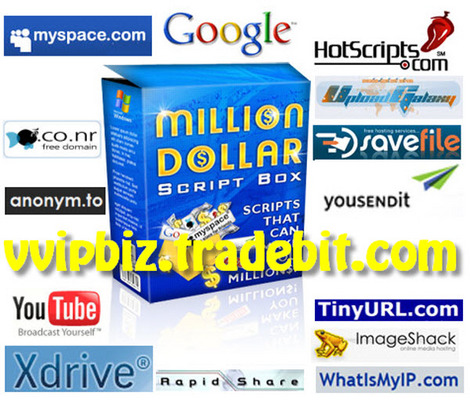 Pay for Million Dollar Script Box : Instant Business Empire Comes with Full Master Resale Rights