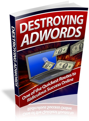 Pay for Destroying Adwords PLR Ebook