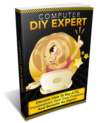 Pay for Computer DIY Expert eBook + Audio - Troubleshoot Your Own PC