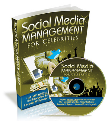 Pay for *New Released* Social Media Management for Celebrities eBook