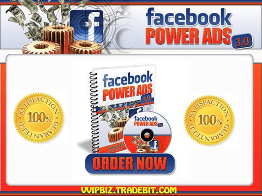 Pay for FaceBook Power Ads 3.0 System (MRR) - Successful Advertising With FaceBook Ads
