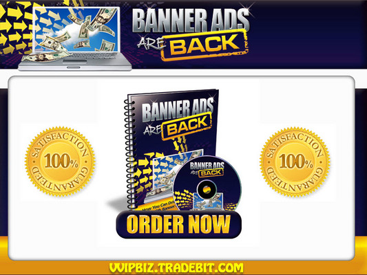 Pay for Banner Ads Re-Marketing MRR  eBook  - Targeted Traffic