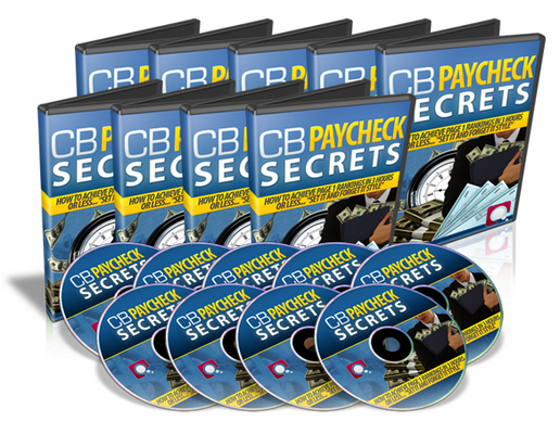 Pay for ClickBank (CB) Paycheck Secrets Video Tutorials with Transferable MRR