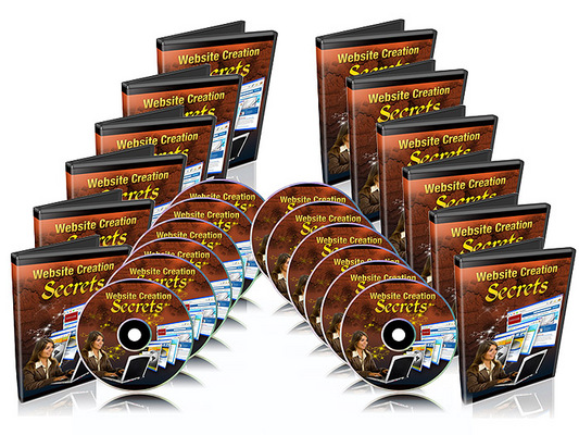 Pay for Website Creation Secrets 7 Part Video Course With Resale Rights