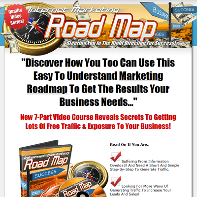 Pay for *New!* Internet Marketing Roadmap (MRR) - High Quality Video Series