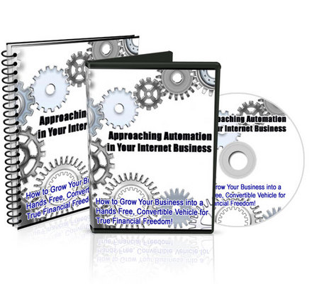 Pay for Approaching Automation in Your Internet Business (MRR) -Video and  Audio