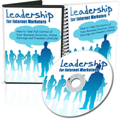 Pay for Leadership for Internet Marketers (MRR) - Video and Audio