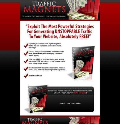 Pay for Traffic Magnets Exploiting Free Resources For Unlimited Traffic