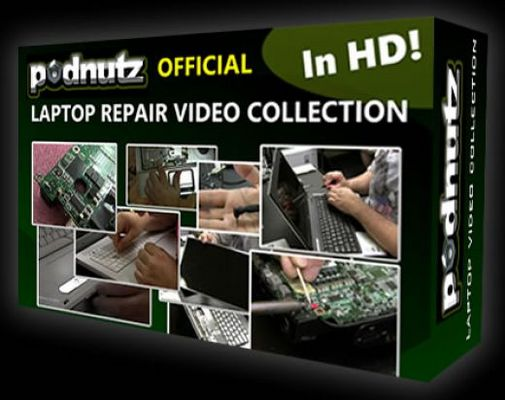 Pay for Podnutz - Laptop Repair Video Collection Ready Made Clickbank Review Sites!