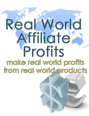 Pay for Sell Real World Products! Real World Affiliate Profits (MRR)