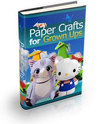 Pay for Paper Crafts for Grown Ups - 79 pages